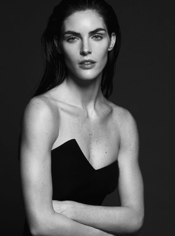Hilary Rhoda for Models.com | Photographers: Santiago Mauricio | Stylist: Elizabeth Sulcer | Makeup Artist: Serge Hodonou // #editorials