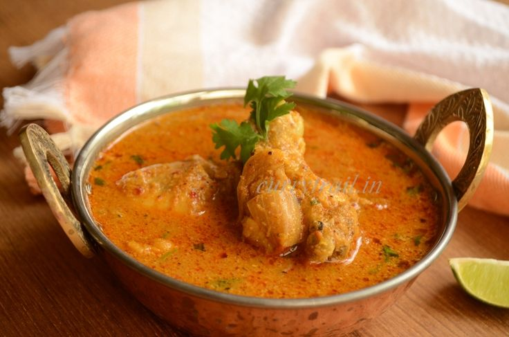 Chicken curry with coconut milk | step wise recipe for chicken curry with coconut milk