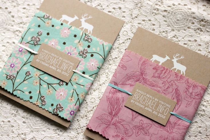 Woodland Wedding Invitations by Rachel Ward via Oh So Beautiful Paper (7)