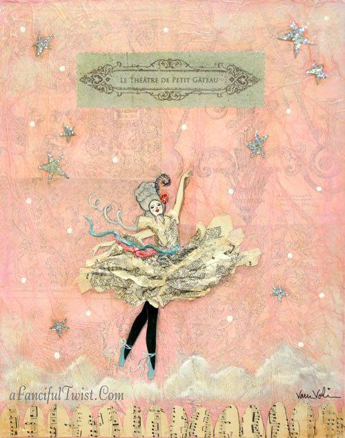 Marie Antoinette Dances at Le Théâtre De Petit by AFancifulTwist, $20.00