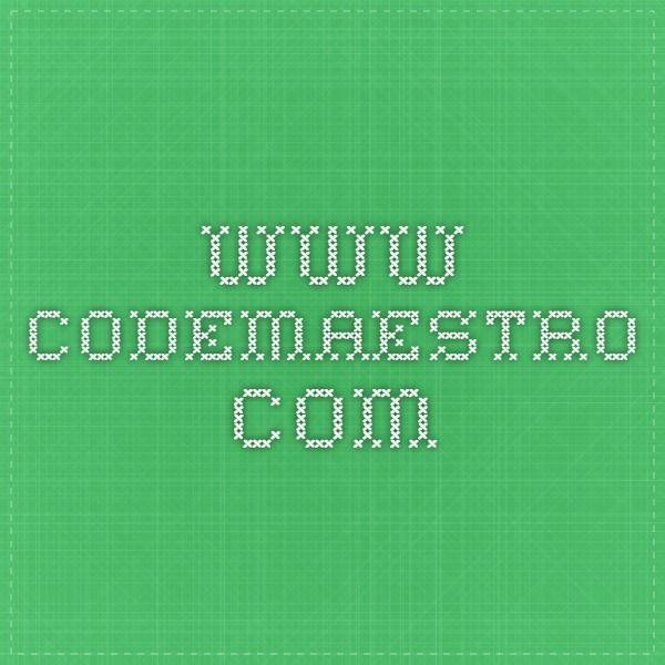 www.codemaestro.com