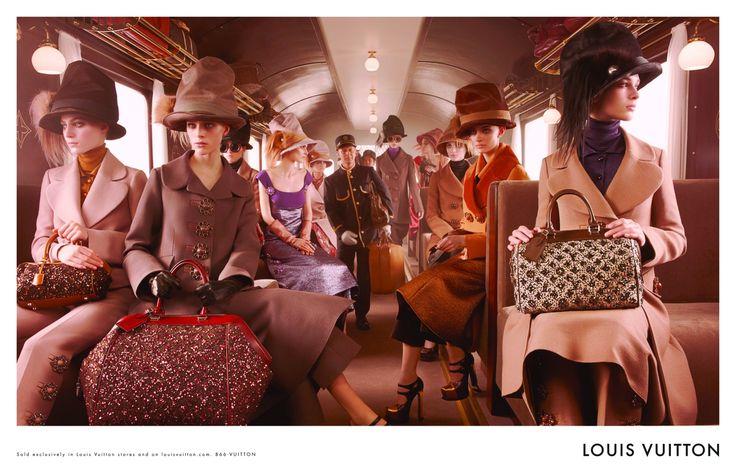 Louis Vuitton otoño/invierno 2012-13: Louisvuitton, Louis Vuitton, Steven Meisel, Ads Campaigns, Marc Jacobs, Fall 2012, Fall Winter, Vuitton Fall, 2012 Campaigns