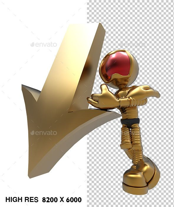 3D Astronaut Tell Down Direction Arrow by rophaaa 3D Astronaut Tell Down Arrow Direction2 files included, jpg with white background, png transparent with shadow 8000px X 4000px pri