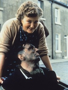 'My Left Foot' (1989). The main character in My Left Foot can barely move his mouth to speak, but by manipulating his left foot, he's able to express himself as an artist & poet. This inspiring story is based on the autobiography of cerebral palsy sufferer Christy Brown. For his moving portrayal of Brown, Daniel Day-Lewis (with co-star Brenda Fricker) gained international fame, and won his first Academy Award for best actor. For more, visit: www.tessfilmfest.in…