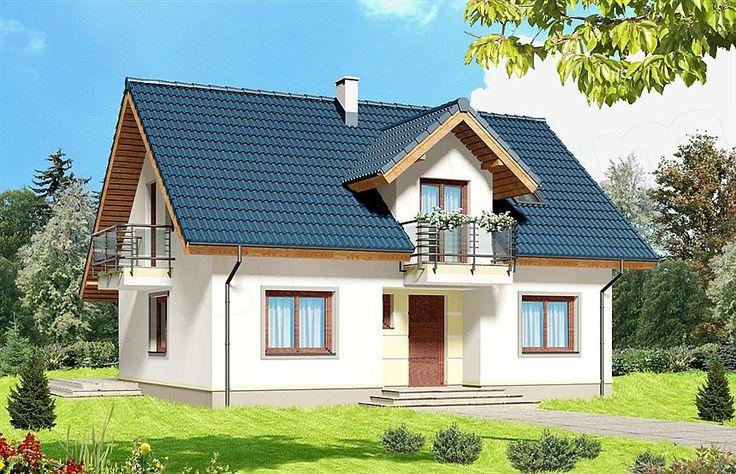 Projekt domu Amant