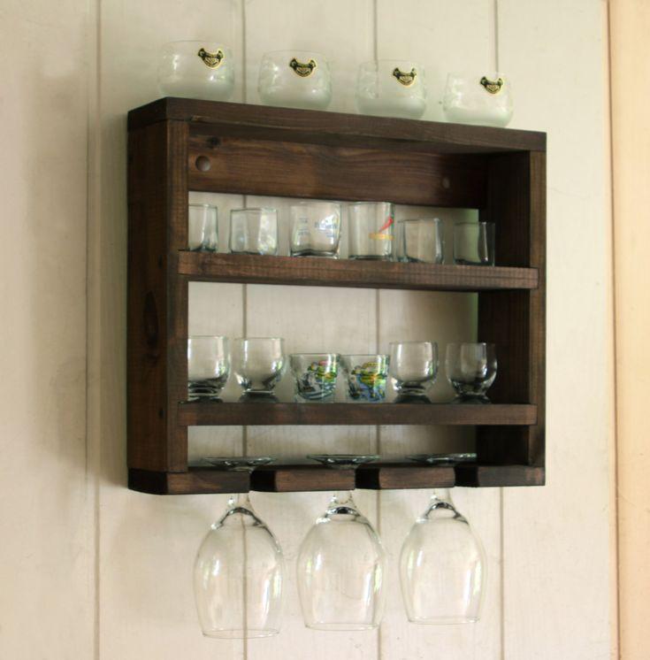 Glass Kitchen Shelf: 25+ Best Ideas About Wine Glass Shelf On Pinterest