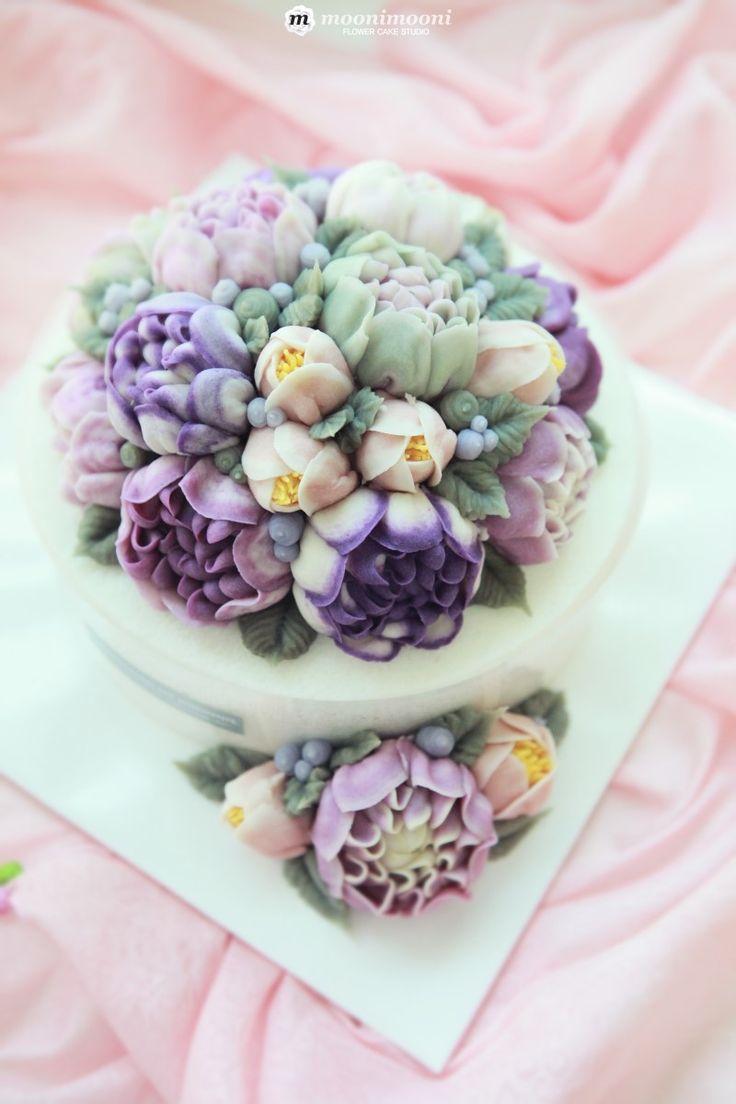 부산앙금플라워떡케이크 :: MOONIMOONI RICE FLOWER CAKE :: 무니무니플라워케이...
