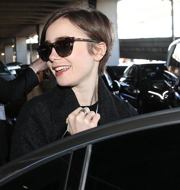 lily-collins-Short-hair -2015-04