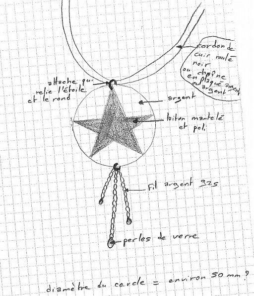 Création d'un bijou sur un de mes croquis par Malyzarie créations : http://www.menagere-trentenaire.fr/2014/01/17/cadeau-de-noel-malyzarie-creations-concours