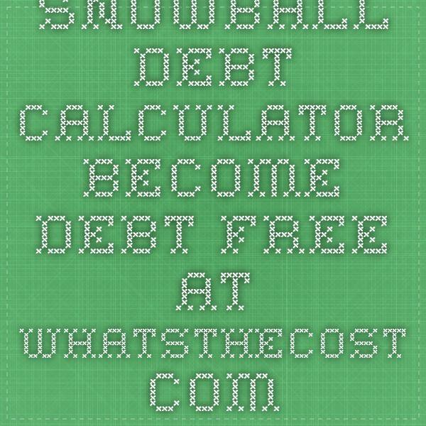 Best 25+ Debt snowball calculator ideas on Pinterest Pay off - credit card payoff calculator