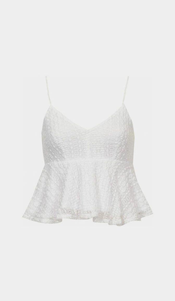 white top.