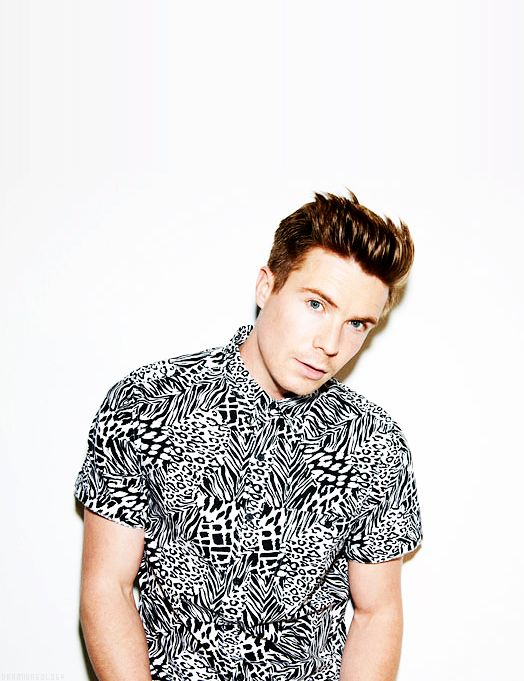 Joe Dempsie for Topman Generation.