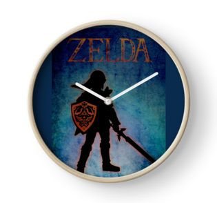 Zelda Clock #gamingclocks #gamerclock #gameswallclock #gaming #college #school #artist #wallclock #buycoolclock #buywallclock #geekclock #games #gamer #gamergifts #geek #nerd #geekgifts #zeldaclock  #office #sketchbook  #gamesgifts  #giftsforhim #giftsforher #onlineshopping #redbubble #kids #kidsroom #kidsclocks #kidsroomclocks #clocksforkids