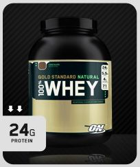 I like to avoid artificial sweeteners. This Optimum Nutrition Natural line has an incredible Chocolate. I drink this many nights right before bed mixed with water. Whey is great for recovery and muscle mass maintenance.