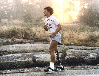 Terry Fox should be remembered due to his desire to make a change, and perseverance.