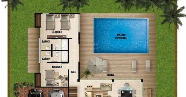Con un plano se puede lograr excelentes construcciones a for Casa moderna que es