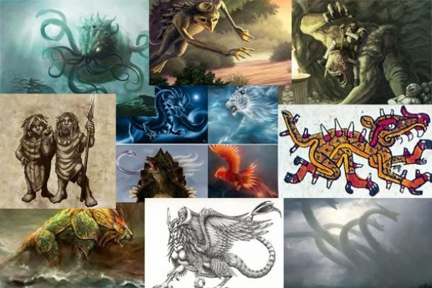 The world is full of stories about mythical creatures, legendary beasts, and supernatural and god-like beings. For thousands of years, humans everywhere—sometimes inspired by living animals or e