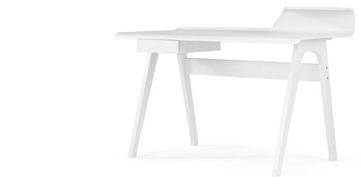 Cornell Desk, White