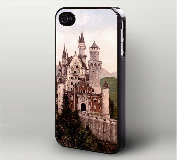 Neuschwanstein Castle Bavaria Germany iPhone 4 Case, iPhone