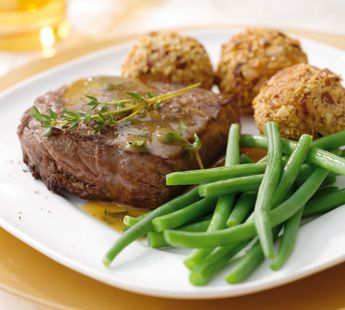Ierse biefstuk met honingtijmsaus - Recept - Jumbo Supermarkten