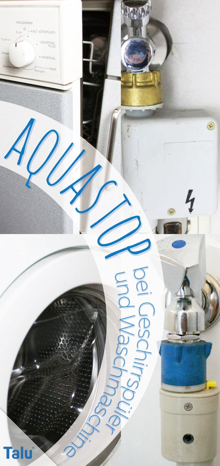 aquastop bei waschmaschine und geschirrsp ler nachr sten anleitung geschirrsp ler