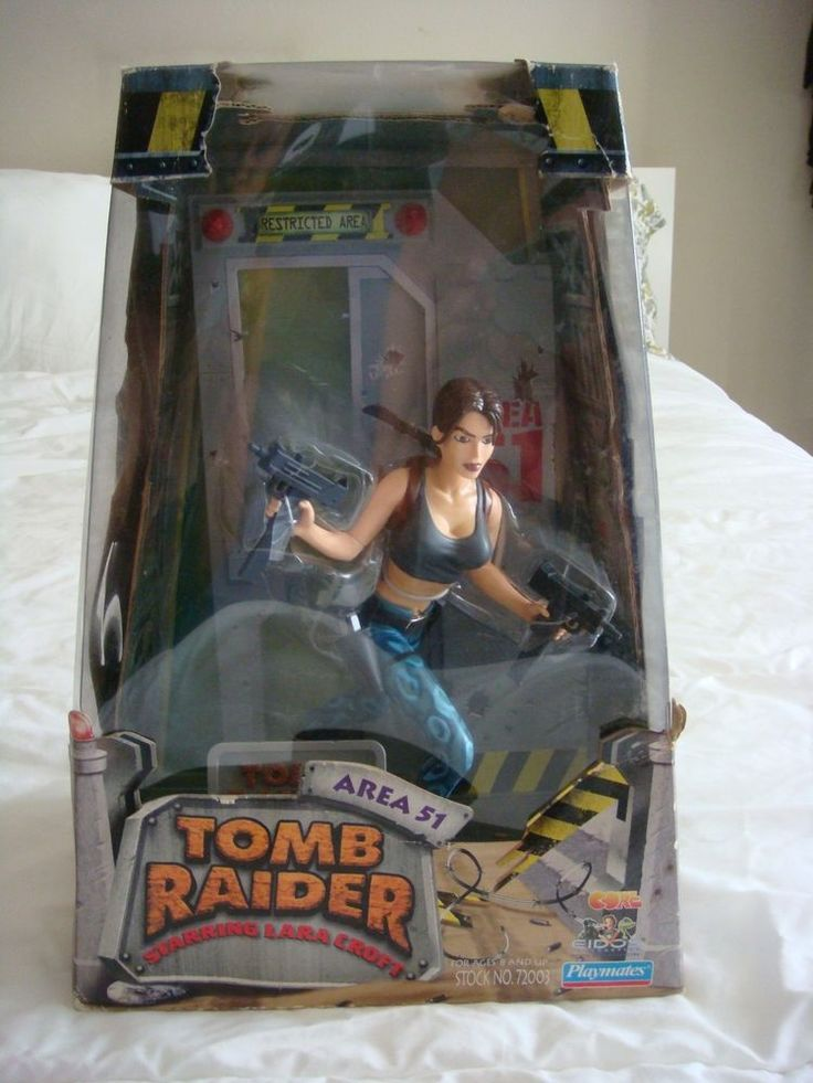 "Tomb Raider Lara Croft Area 51 Playmates 10"" Figurine #PlaymatesToys http://www.ebay.com/itm/Tomb-Raider-Lara-Croft-Area-51-Playmates-10-034-Figurine-/161425286469?"