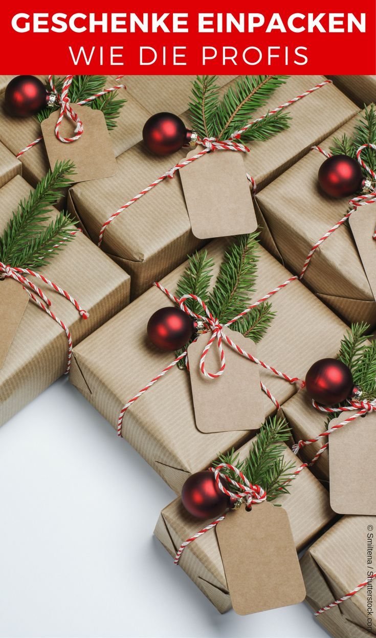 Geschenke verpacken wird mit unserer Schritt-für-Schritt-Anleitung in diesem Ja…