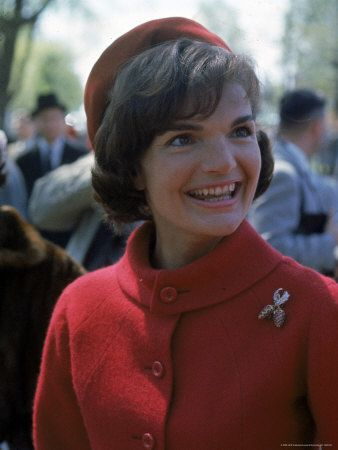 Jackie Kennedy wearing Chanel suit