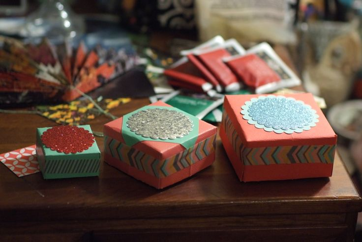 Excellent hand-made boxes by @Bethany Strand. I had the opportunity to give some of these out as yuletide gifts.   http://www.etsy.com/shop/TheMooseStache?ref=shop_sugg