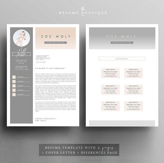    PROMOCODE: 2 CVs voor 25$ USD, gebruik code 2PLEASE     Welkom bij de CV-Boutique! Wij maken sjablonen waarmee u een blijvende indruk maken bij het aanvragen van uw droom carrière. Wij streven naar de verfijning en elegantie met een moderne twist, gecombineerd met een doordacht ontwerp met veel ruimte voor al uw tekstinhoud.  ▬▬▬▬▬▬▬▬▬▬▬▬▬▬▬▬▬▬▬▬▬▬▬  Download dit bestand voor een professioneel ontworpen en makkelijk om aan te passen 2 pagina CV en sollicitatiebrief overeenkomende…