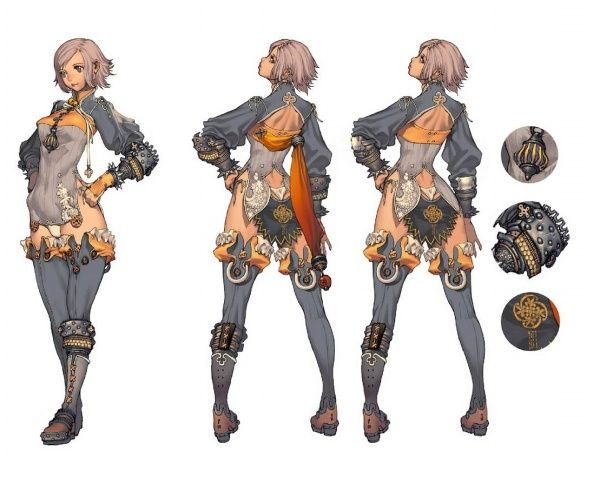 Game Character Concept Design : Blade and soul concept art collection