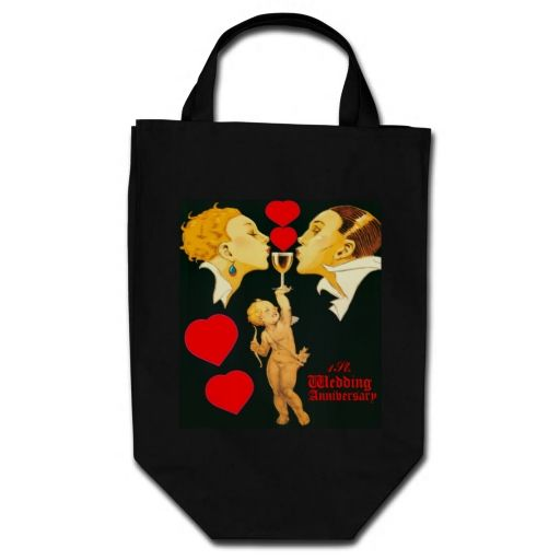 1 st wedding anniversary,just married,newly wed... tote bags