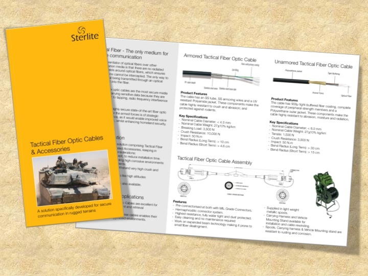 Category: Manufacturing. KAD Communication Consultants conceptualized and designed the go-to-market collaterals.