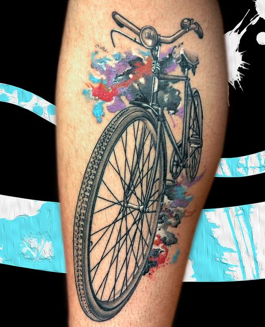 bicycle ink. I kind of dig that-- but I couldn't commit.