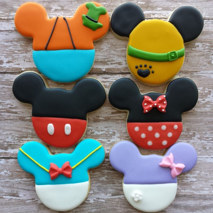 Mickey and Friends Cookies by JEdibleArt on Etsy https://www.etsy.com/listing/224685028/mickey-and-friends-cookies