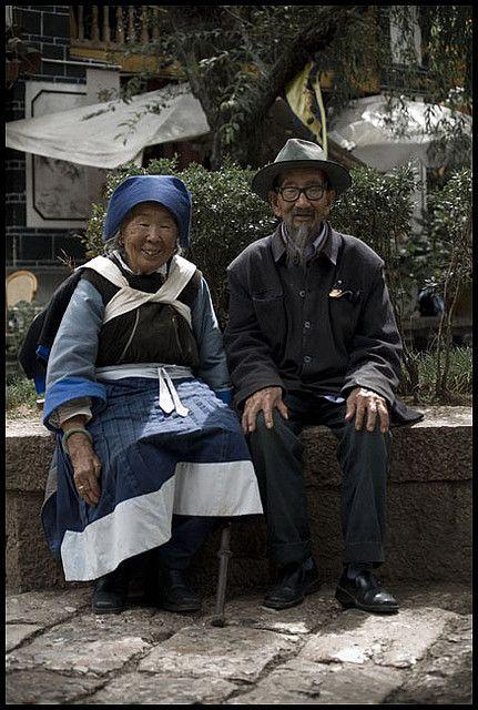 Old couple by Nicolas Harter, via Flickr