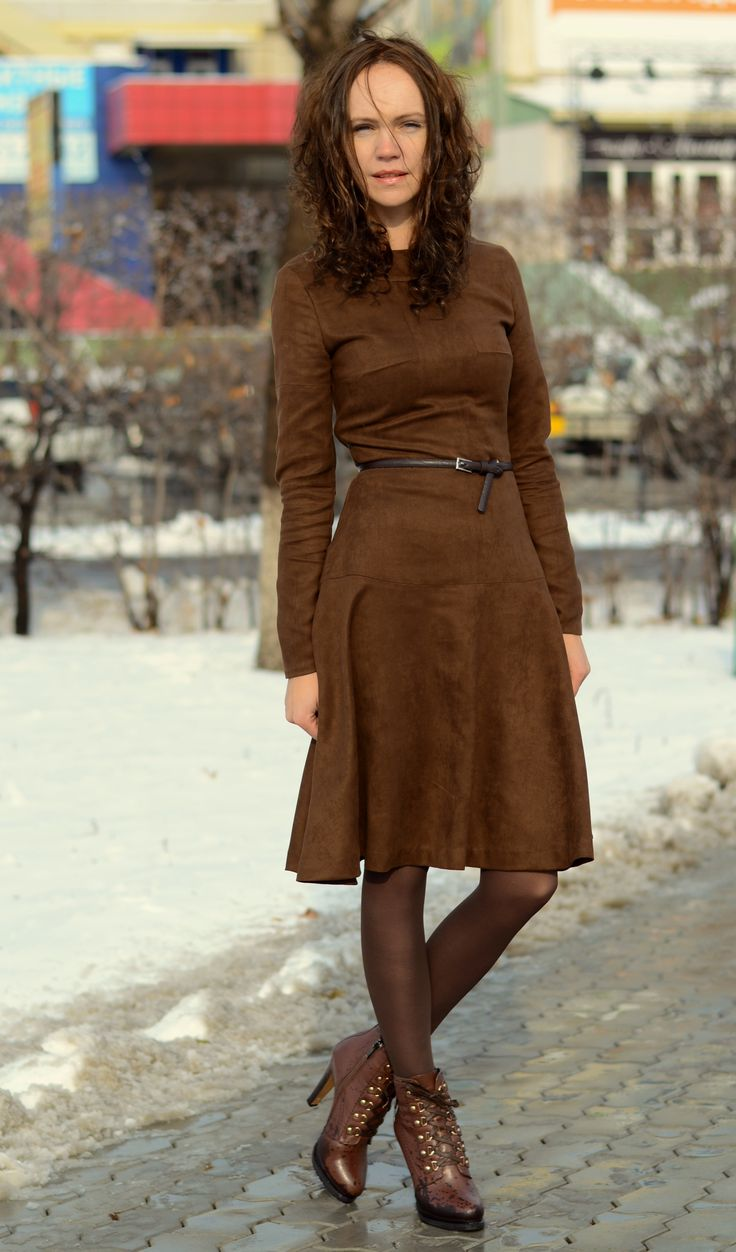 "mocca dress pattern ""Платье в стиле вестерн"" / Фотофорум / Burdastyle"
