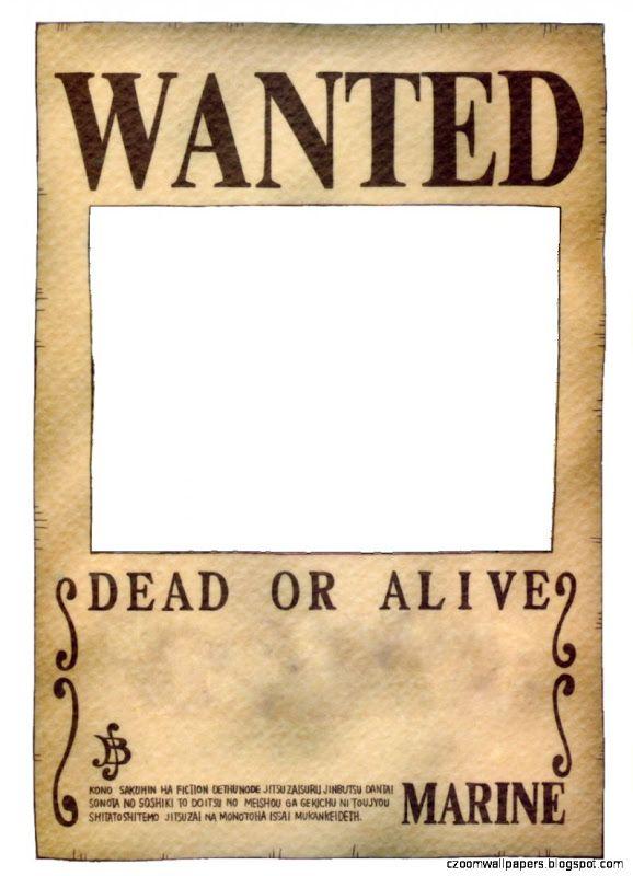 One Piece Wanted Poster By Ei819 On Deviantart Gambar Gambar