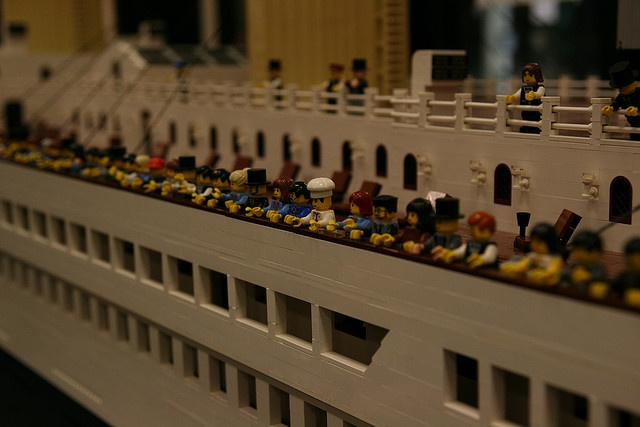 Lego Titanic. By Kelita13 via Flickr