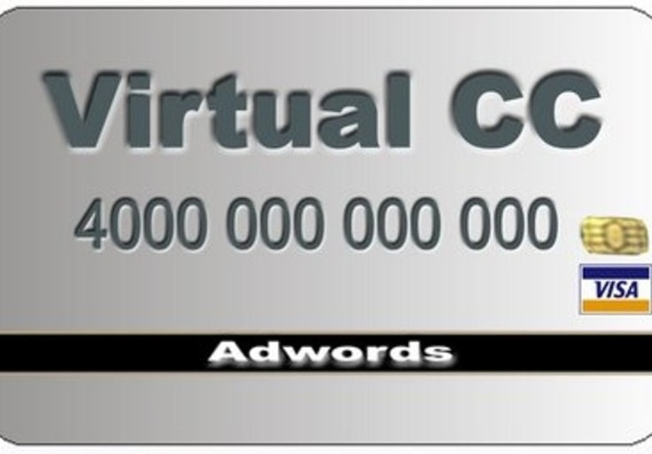 Bingo! give you 2 VCC to use on your Google Adwords account on fiverr.com