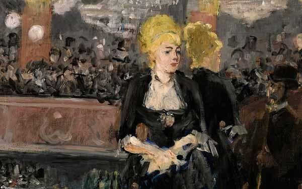 ЭДУАР МАНЕ Бар в «Фоли-Бержер». 1881 (первая версия)