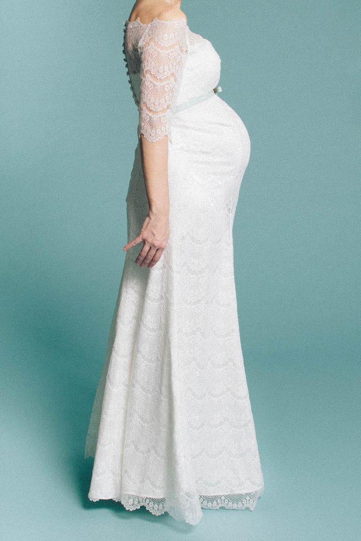 18 best Brautkleider für Schwangere – ohne extra Umstandsbrautkleid ...