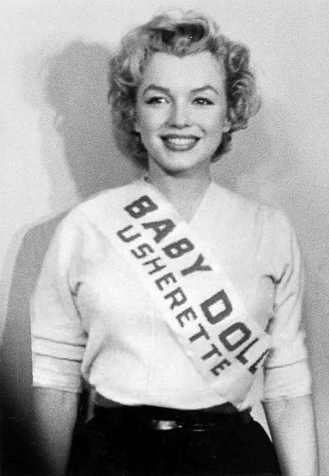 "Marilyn Monroe ✾ promotes ""Baby Doll"" for the Actors Studio, December 4th 1956."