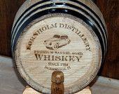 1 Oak Barrel engraved wine barrel whiskey barrel keg wine keg groomsman gift personalized keg