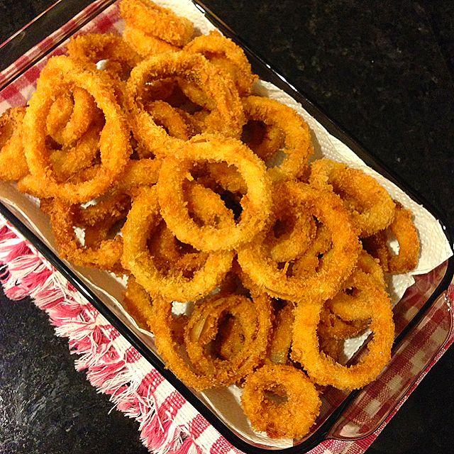 Onion Rings Recipe - coasterkitchen - Dayre