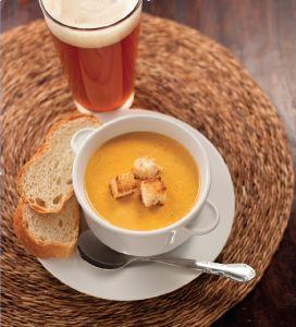 Smoked Gouda Soup with IPA recipe by Jenny Brule | DRAFT Magazine