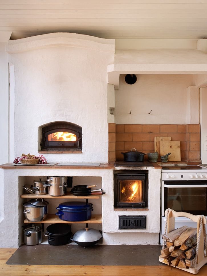 The Family Solvarms Fireplace And Wood Stove In The Kitchen Part 62