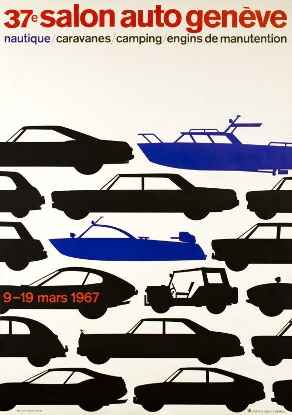 Genève, 37e Salon Auto: Geneve Auto, 1967 Geneva Motor Show, Geneva Auto, Cars, Car Funkle, Automotive Art