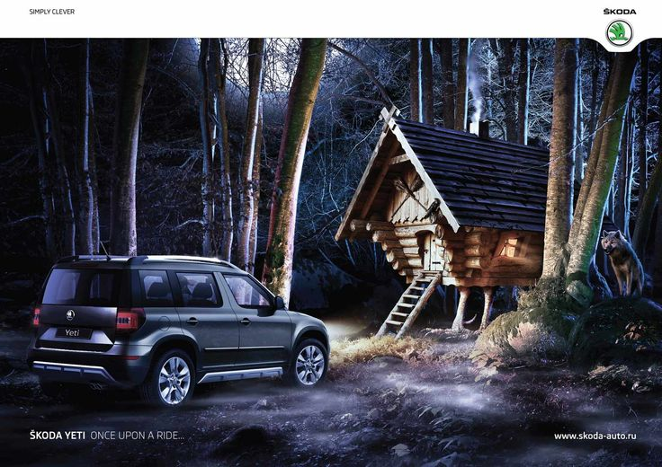 Skoda Yeti: Once upon a ride, 2