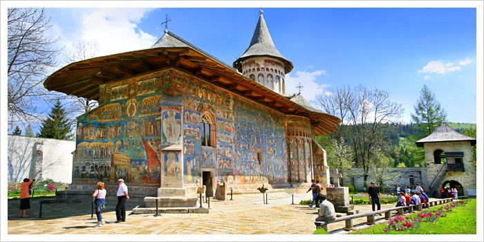 Image result for romanian monasteries